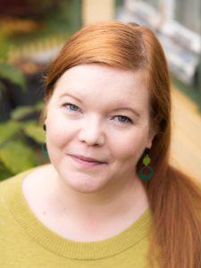 Kuvassa imetyksen edistämisen palkinnon saanut Jenny Säilävaara.